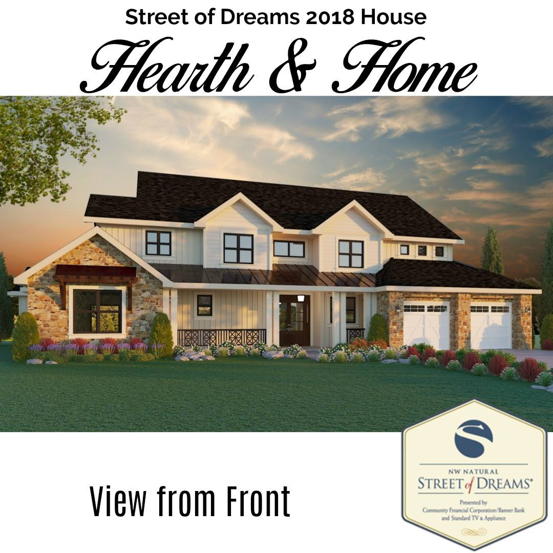 Street of dreams 2018 go realtor group for Street of dreams homes